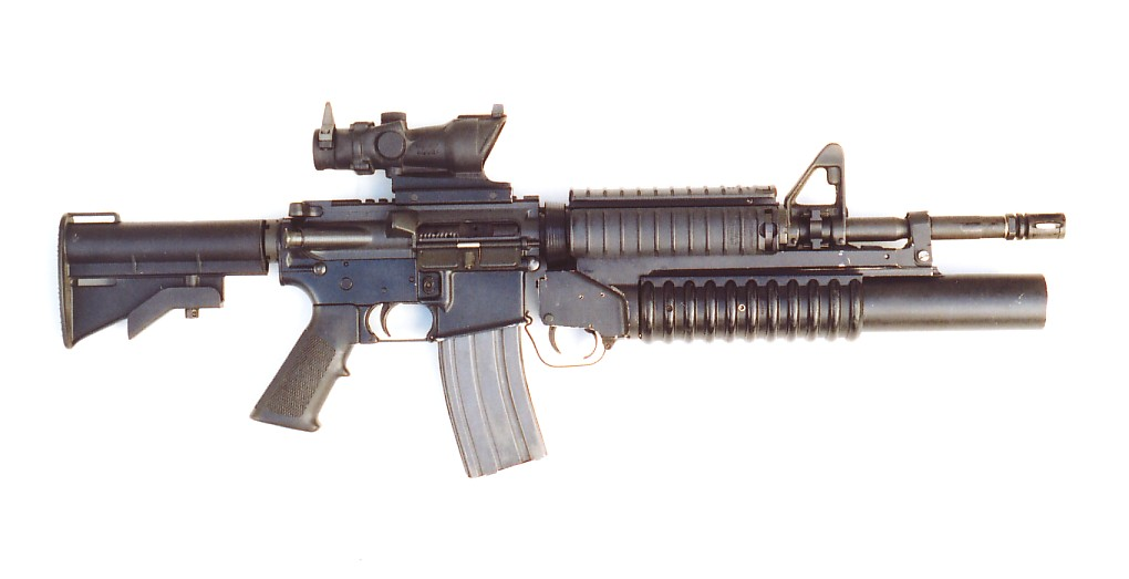 M16 Assault Rifle With Grenade Launcher M16 a3 Assault Rifle This is